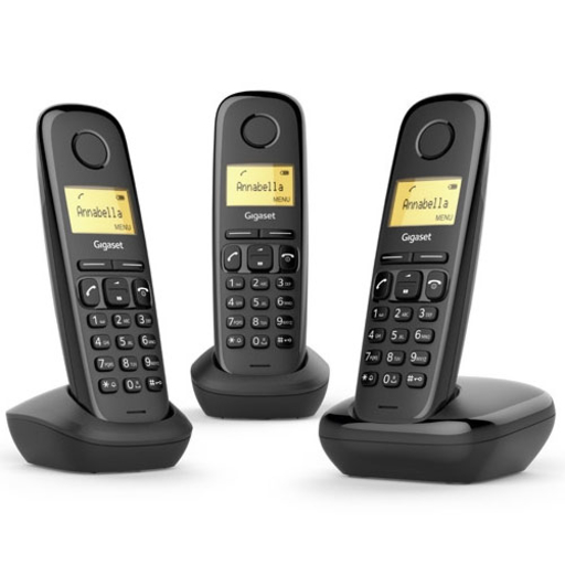 L36852-H2802-K111-MW, Gigaset, telefonia, Gigaset a 170 trio cordless