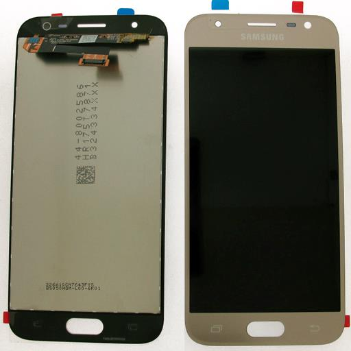 Samsung SM-J330 Galaxy J3 2017 Display completo (touch+LCD) oro