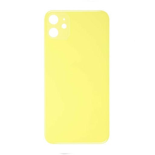 Apple iPhone 11 Copribatteria giallo senza frame NO LOGO