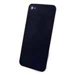 Apple iPhone 4 Cover posteriore Nero come da foto -NO LOGO-
