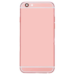 Apple iPhone 6S Cover posteriore metallico Oro Rosa -NO LOGO-