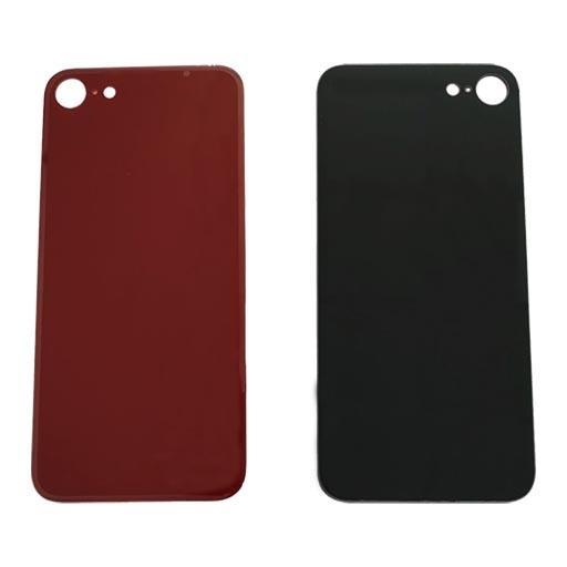 Apple iPhone SE 2020 Copribatteria in vetro rosso