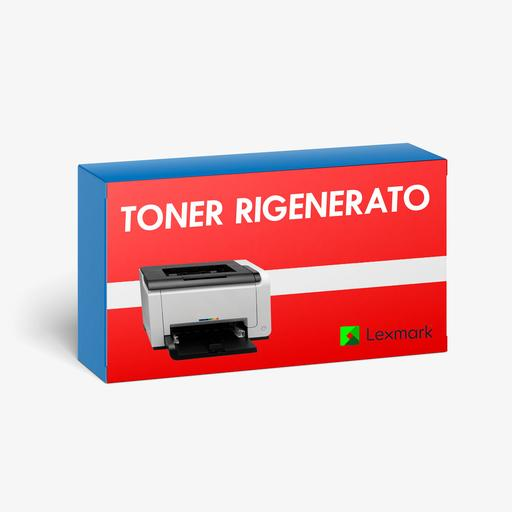 Toner-rigenerato-Lexmark-71B0020-ciano-2300-pagine