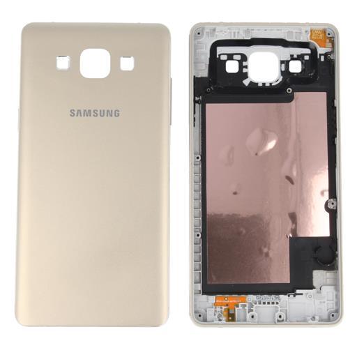 Samsung SM-A500 Galaxy A5 Copribatteria con tasti, antenna e vibrazione colore oro