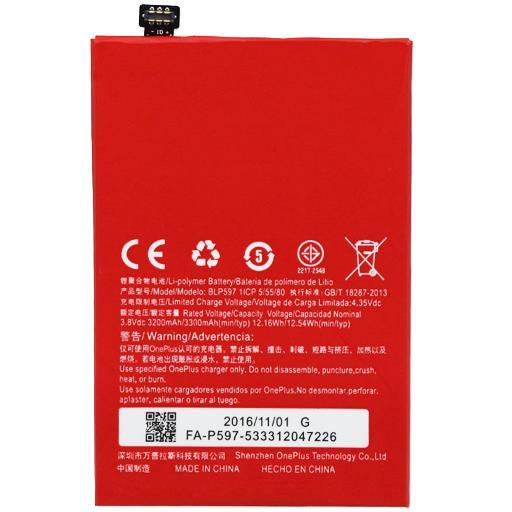 Oneplus 2 Batteria 3300 mAh BULK Oneplus 2