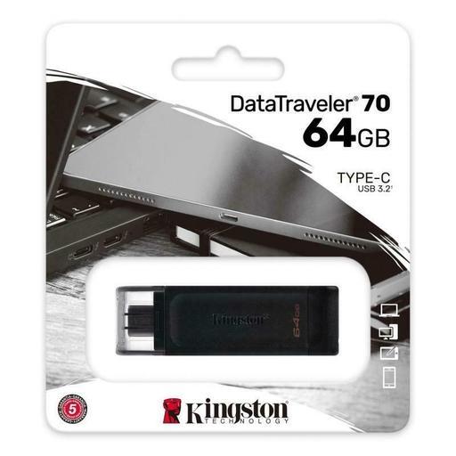 Pendrive-Kingston-64GB-DataTraveler-70-USB-3.2