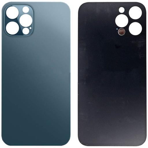 Apple iPhone 12 Pro Copribatteria blu senza frame NO LOGO