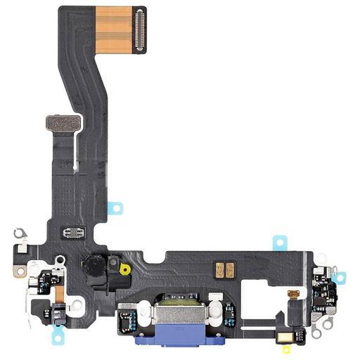 Apple iPhone 12 Flat connettore lightning blu con microfoni