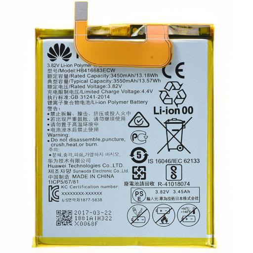 VARI HUAWEI Batteria 3550 mAh BULK Nexus 6P