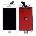 Apple iPhone 5 Display completo (TOUCH+LCD) bianco AAA (ENHANCED QUALITY)
