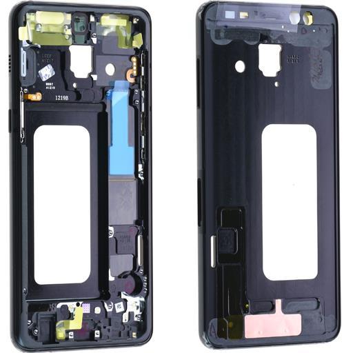 Samsung SM-A530 Galaxy A8 (2018) Middle frame nero