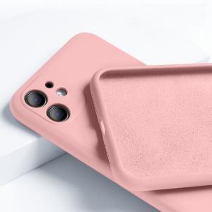 Cover silicone serie Silk Road (rosa) per Xiaomi Mi11i