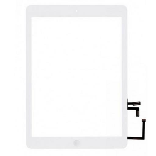 Apple iPad Air Touchscreen +tasto interno Bianco (A++) compreso biadesivo