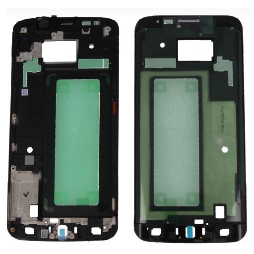 Samsung SM-G925 Galaxy S6 Edge Frame completo di cornice e supporto touch screen e display.