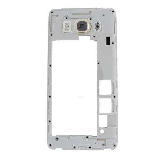 Samsung SM-J510 Galaxy J5 2016 Middle frame con vetrino fotocamera per oro.