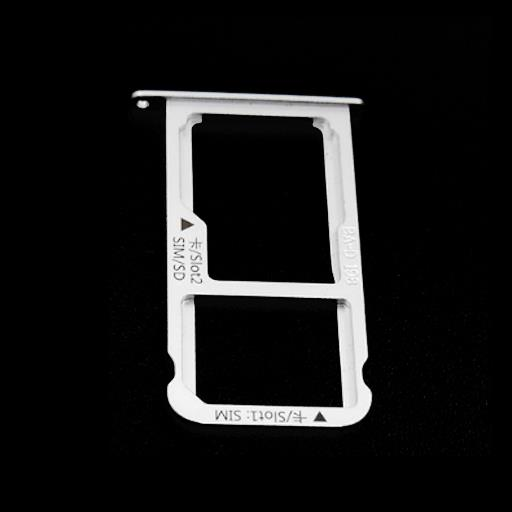 HUAWEI MATE 9 Carrello estrazione SIM/micro SD bianco