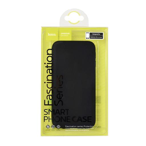 Apple iPhone 6 Plus Cover TPU nera 0.8mm opaca