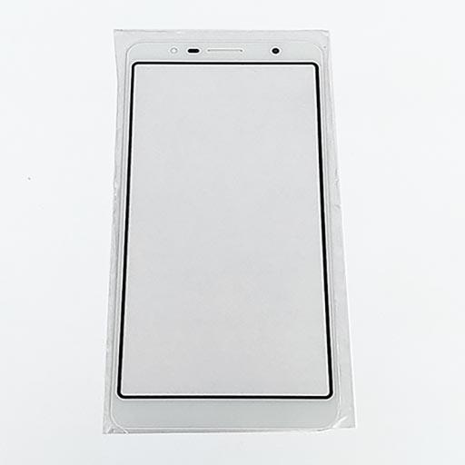 Alcatel 3C Touch screen con vetrino bianco
