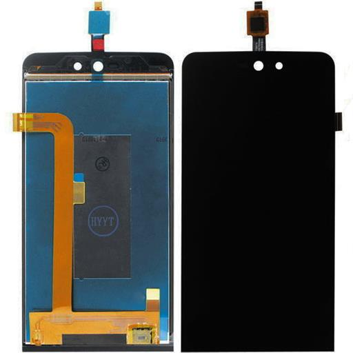Wiko Rainbow Jam 4G Display completo (touch+LCD) nero senza frame