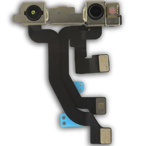 Apple iPhone XS Fotocamera anteriore e face ID con flat