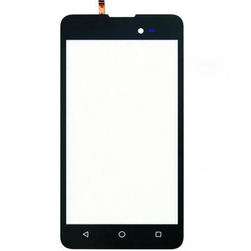 Wiko Sunny2 Plus Touch screen con vetrino nero