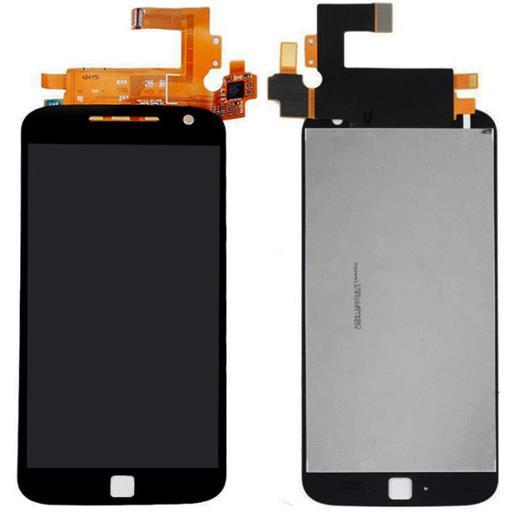 Motorola Moto G4 Plus Display completo (touch+LCD) nero senza frame