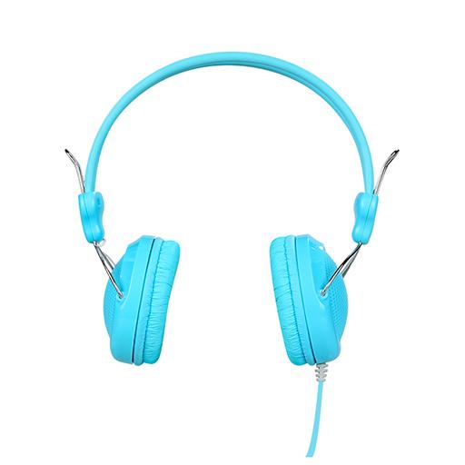Cuffie cablate over ear con mic blu mod. W5